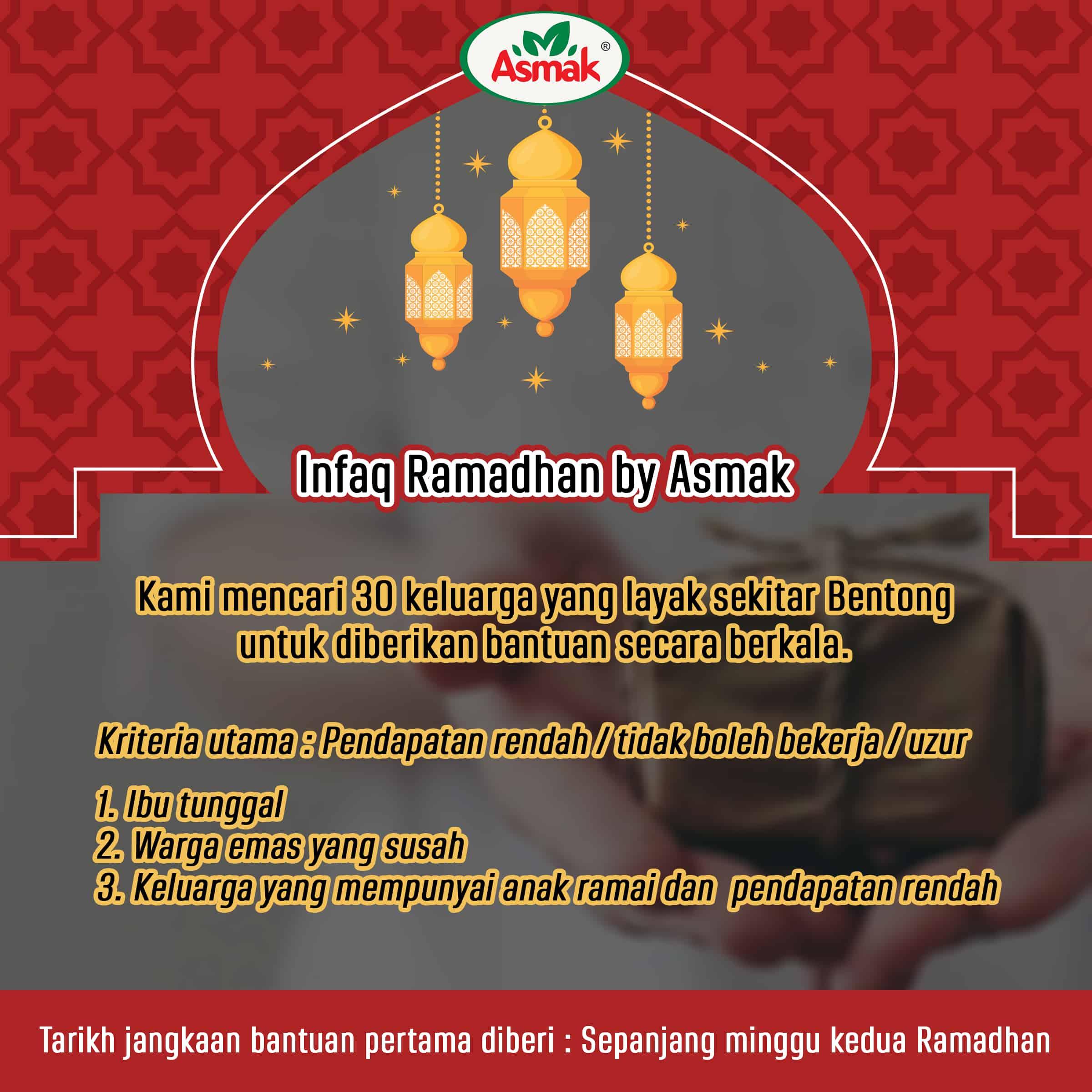 Infaq Ramadhan by Asmak